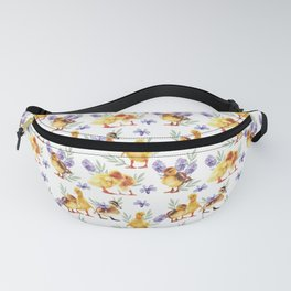Little yellow ducks Fanny Pack