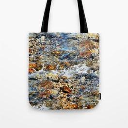 Peaceful Soothing Waters Tote Bag