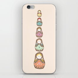 Matryoshka Madames iPhone Skin