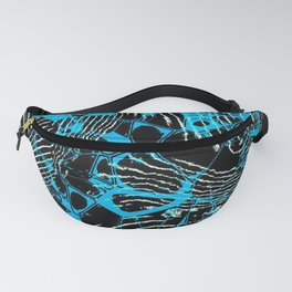 Crazy abstract Nightmare A Fanny Pack