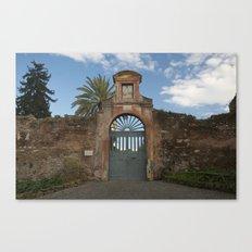 Roman Doorway Canvas Print