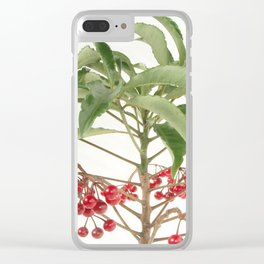 Spice Berry  Clear iPhone Case