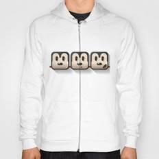faces of mickey mouse Hoody