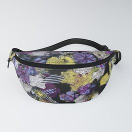 Floral Travels Fanny Pack