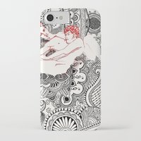 henna iPhone & iPod Cases featuring Henna Lovers by N.I.S.