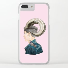 horn Clear iPhone Case