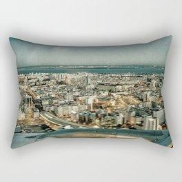 Lisbon sky view Rectangular Pillow