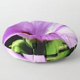 Rose Of Sharon A Summer Bloom Floor Pillow