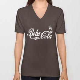 Boba Cola (red/white) Unisex V-Neck