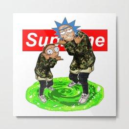 supreme rick Metal Print