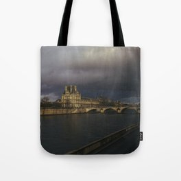 Paris in the Golden Hour Tote Bag