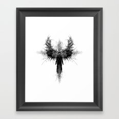 Particles and Angels Framed Art Print