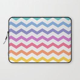 Rainbow Chevron Laptop Sleeve
