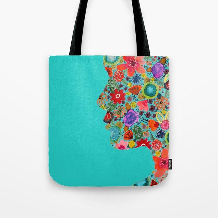 dream on, little flower Tote Bag