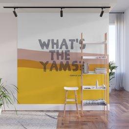 KENDRICK LAMAR WHAT'S THE YAMS POSTER Wall Mural