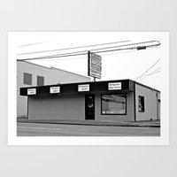 discount Art Prints featuring Discount appliance shop by Vorona Photography