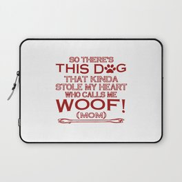 This Dog Stole My Heart! Laptop Sleeve