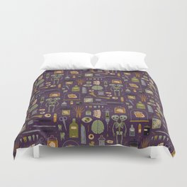 Odditites Duvet Cover