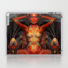 Triptych: Shakti - Red Goddess Laptop & iPad Skin