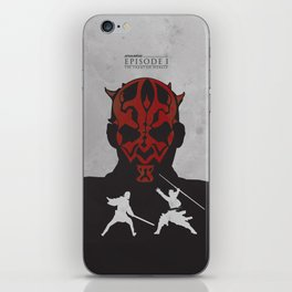 The Phantom Menace iPhone Skin
