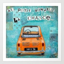 Au petit bonheur la chance Art Print