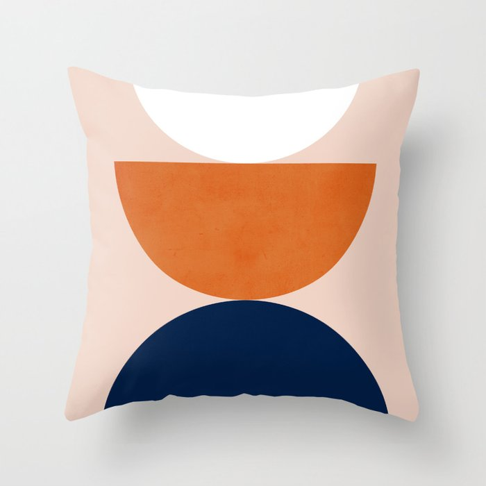 Abstraction_Balance_Minimalism_001 Throw Pillow