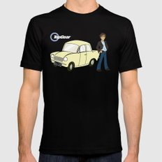 Top Gear X-LARGE Black Mens Fitted Tee