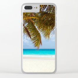 Window on the beach Clear iPhone Case