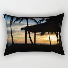 Hawaii Sunset 2 Photo Rectangular Pillow