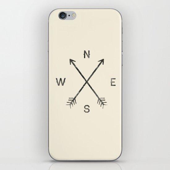 Compass (Natural) iPhone & iPod Skin