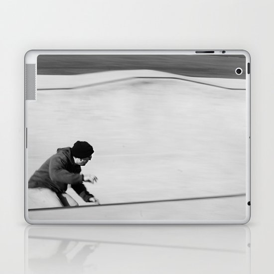 Wave rider Laptop & iPad Skin