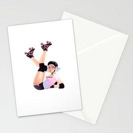 Roller Derby Pinup Stationery Cards
