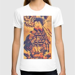 Distorted Tattoo Geisha T-shirt