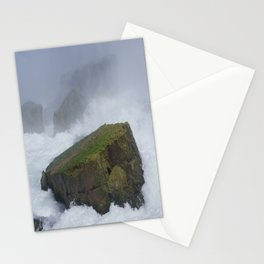 The Rock at Niagra Falls Stationery Cards