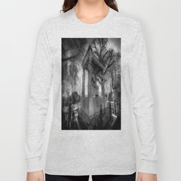 Kensal Green Cemetery London Long Sleeve T-shirt