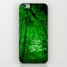 Electric Forest Green iPhone Skin