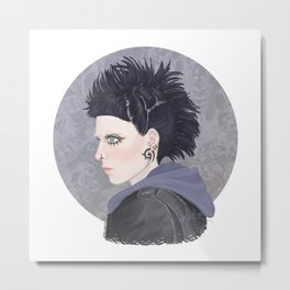 Lisbeth #1 Metal Print