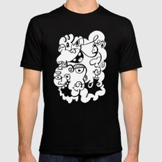 Doodle of the day 4 Mens Fitted Tee MEDIUM Black