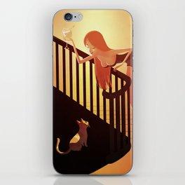 Don't cry kitten iPhone Skin