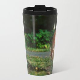 Fawn in the woods Travel Mug