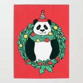 Beary Christmas Poster