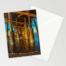 Under Newport Pier Stationery Cards