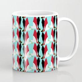 Steppe Eagle - Egypt national cymbol, flag color Coffee Mug