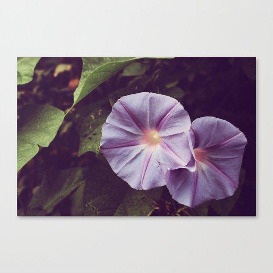 Le violet de haut-parleurs Canvas Print