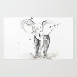 aquarela Elefante Rug