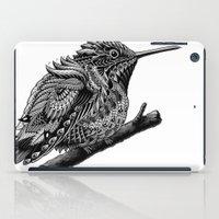 hummingbird iPad Cases featuring Hummingbird by BIOWORKZ