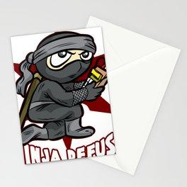 NINJA DEFUSE Pro Gamer Gaming Bomb CS Go Terrorist Stationery Cards