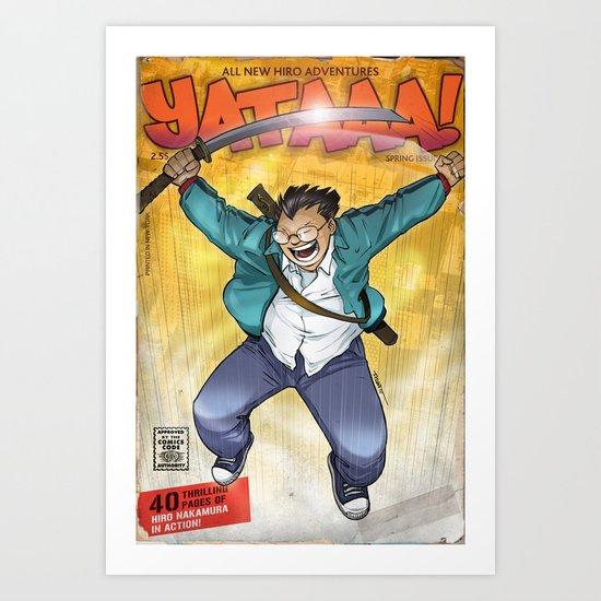 Yataaa! Art Print