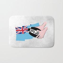 Fiji Rugby Flag Bath Mat