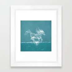 The Water Horse Framed Art Print